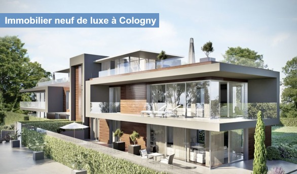 promotion immobiliere de prestige luxe cologny geneve