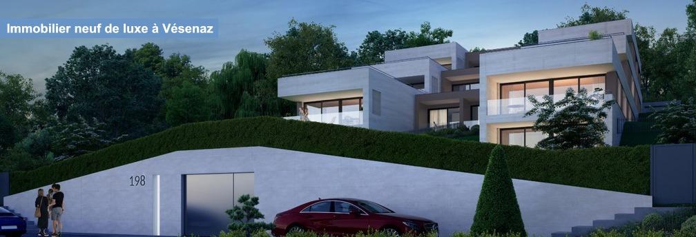 promotion immobiliere de prestige luxe vesenaz geneve